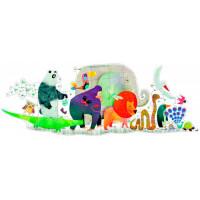 Djeco Пазл – гигант Животные