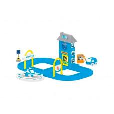 Dolu Игровой набор полицейская станция с круговой дорогой
