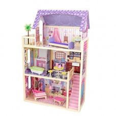 """Домик из дерева для кукол 30 см, с мебелью 10 предметов, """"Кайла"""" (Kayla dollhouse)"""