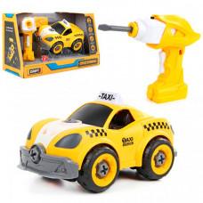 Drift Конструктор-скрутка на радиоуправлении Городское такси со звуком