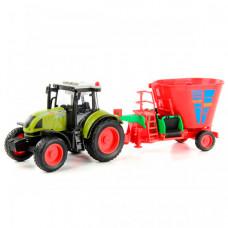Drift Трактор с прицепом со смесителем