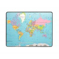 Durable Настольное покрытие 40х60 Карта Мира