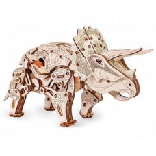 Eco Wood Art 3D EWA Динозавр Трицератопс