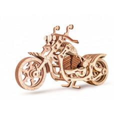 Eco Wood Art 3D EWA Мотоцикл Cruiser