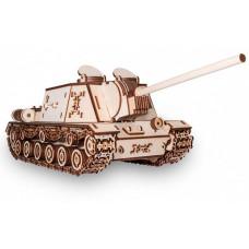 Eco Wood Art Конструктор 3D EWA Танк ИСУ-152