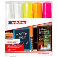 Edding Набор маркеров меловых E-4090 4-15 мм