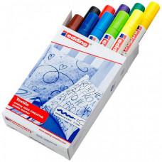 Edding Набор маркеров по ткани 4500 Basic 2-3 мм 10 цветов