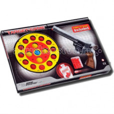 Edison Игрушечный Набор оружия с пистолетом, мишенью и пульками Champions-Line Target Game