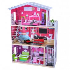 Edufun Кукольный дом с мебелью EF4118