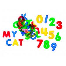 EDX Education Набор Буквы и цифры прозрачные