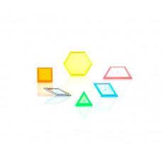 EDX Education Набор Геометрические фигуры прозрачные