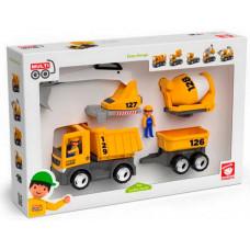 Efko Набор Спецтехника: строительная машина (8 предметов)