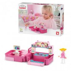 Efko Раскладывающийся игровой набор детская комната с аксессуарами и девочкой
