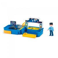 Efko Раскладывающийся игровой набор Полиция с фигуркой полицейского и аксессуарами