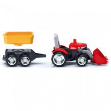 Efko Трактор с дополнительным прицепом