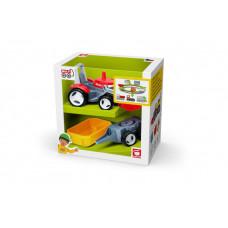 Efko Трактор с дополнительным прицепом Вертикальная упаковка