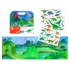 Egmont Магнитная игра Динозавры 630665