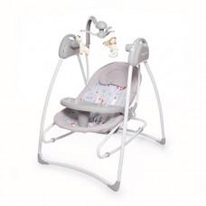 Электронные качели Baby Care Butterfly 2 в 1 с адаптером