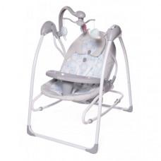 Электронные качели Baby Care IcanFly Улитка 2 в 1 с адаптером
