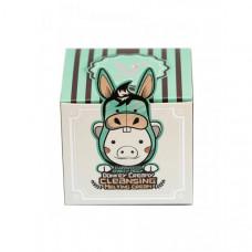 Elizavecca Donkey Creamy Очищающий крем для лица на основе ослиного молока 100 г