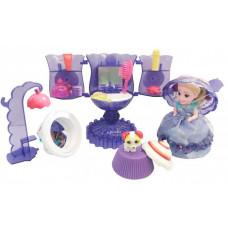 Emco Cupcake Surprise Набор Мороженое: туалетный столик с куклой-капкейк и питомцем