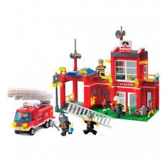 Enlighten Brick Fire Rescue (380 деталей)
