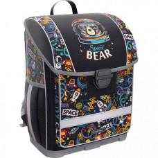 Erich Krause Ученический ранец с пластиковым дном ErgoLine Space Bear 16 л