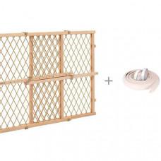 Evenflo Барьер безопасности Position & lock с безопасной мягкой лентой ПОМА 2 м