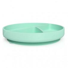Everyday Baby Силиконовая тарелка на присоске 4 отсека