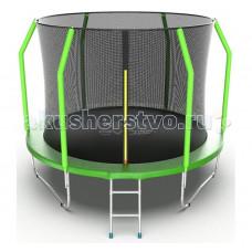 EVO Jump Батут Cosmo с внутренней сеткой и лестницей 10ft