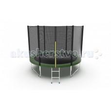 EVO Jump Батут External с внешней сеткой и лестницей 10ft