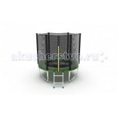 EVO Jump Батут External с внешней сеткой и лестницей 6ft