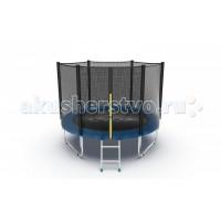 EVO Jump Батут Externalс внешней сеткой и лестницей 8ft