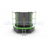 EVO Jump Батут Internal с внутренней сеткой и лестницей 10ft + нижняя сеть