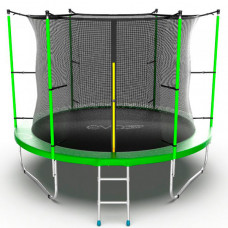 EVO Jump Батут с внутренней сеткой и лестницей 10ft