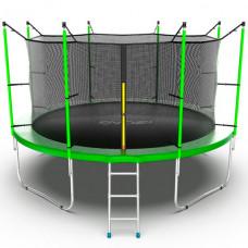EVO Jump Батут с внутренней сеткой и лестницей 12ft