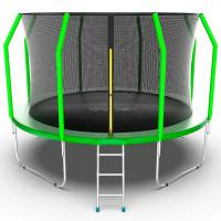 EVO Jump Батут с внутренней сеткой и лестницей 12ft evojumpcos