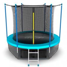 EVO Jump Батут с внутренней сеткой и лестницей 12ft и Нижняя сеть