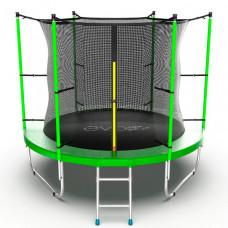 EVO Jump Батут с внутренней сеткой и лестницей 8ft