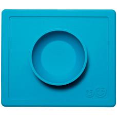 Ezpz Глубокая тарелка для каш и супов Happy Bowl 240 мл