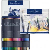 Faber-Castell Цветные карандаши Goldfaber в металлической коробке 48 шт.
