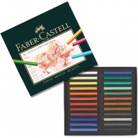 Faber-Castell Пастель Polychromos набор цветов 24 шт.
