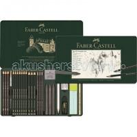 Faber-Castell Специальный набор Pitt Monochrome 26 предметов в металлической коробке