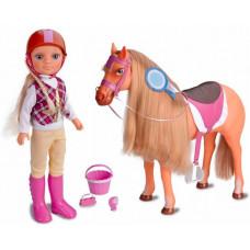 Famosa Кукла Нэнси с лошадкой