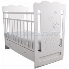 Детская кроватка Forest Lovely Giraffe маятник поперечный