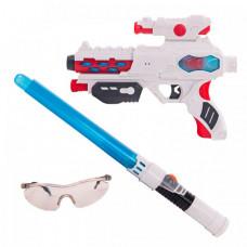 Fun Red Набор бластер с мечом и очками со звуком и светом