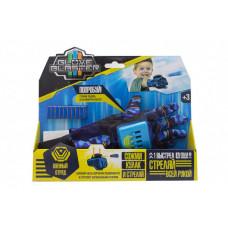 Glove Blaster Перчатка-бластер Военный отряд с пулями 10 шт.