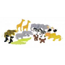 Goki Фигурки Животные ковчега цветные