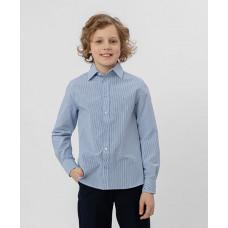Голубая рубашка в полоску Button Blue