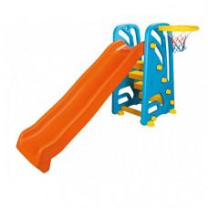Горка-комплекс с баскетбольным кольцом